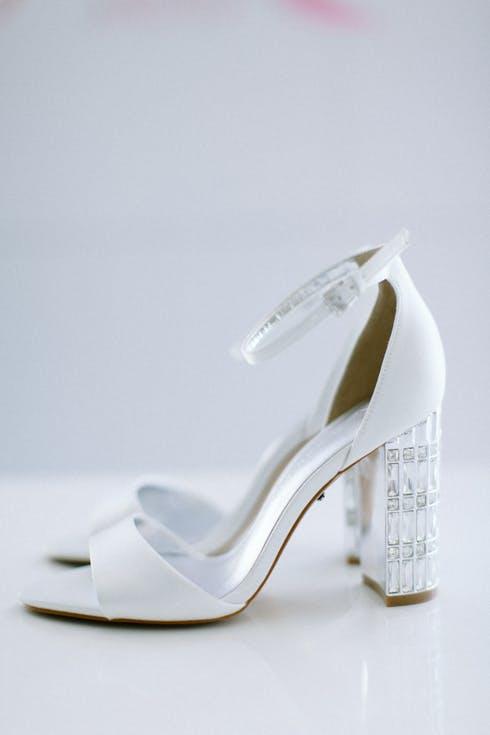 Sandały ślubne