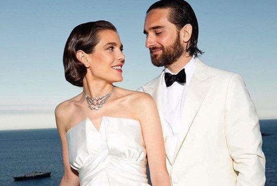 Charlotte Casiraghi wyszła za mąż