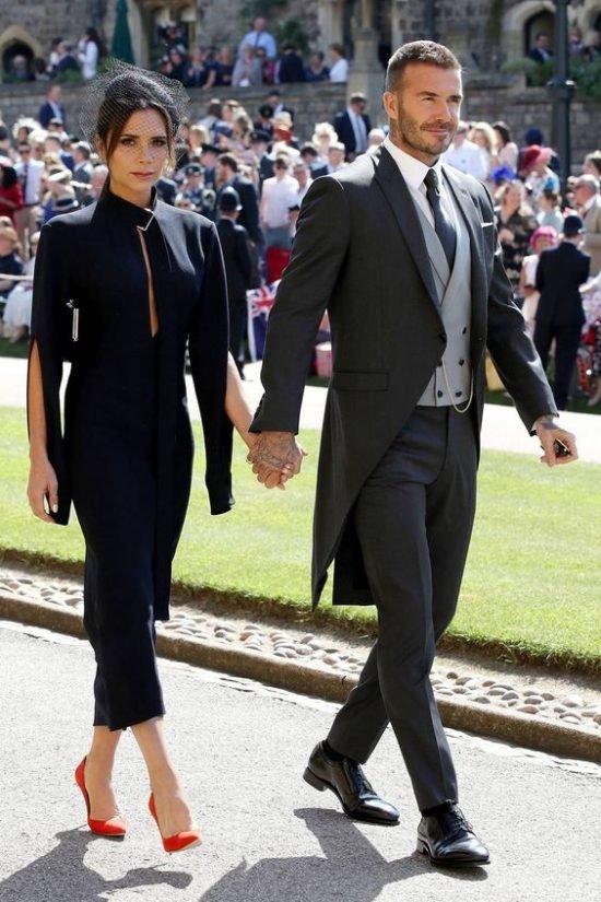 Victoria Beckham - ślub Meghan Markle i księcia Harry`ego