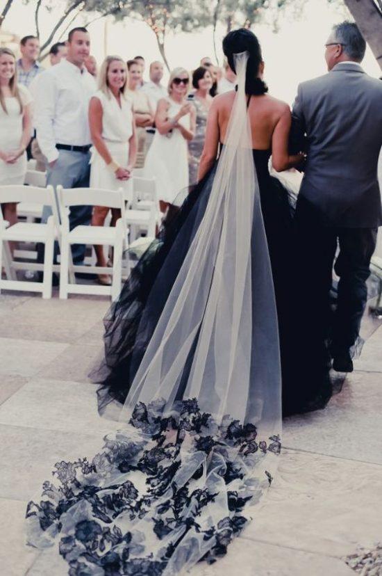Czarne dodatki ślubne - zdjęcie 16