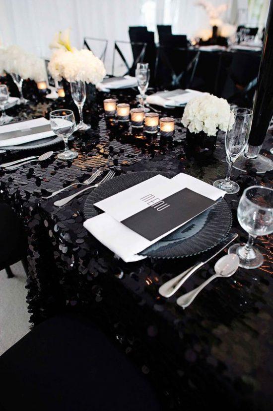Czarne dodatki ślubne - zdjęcie 5
