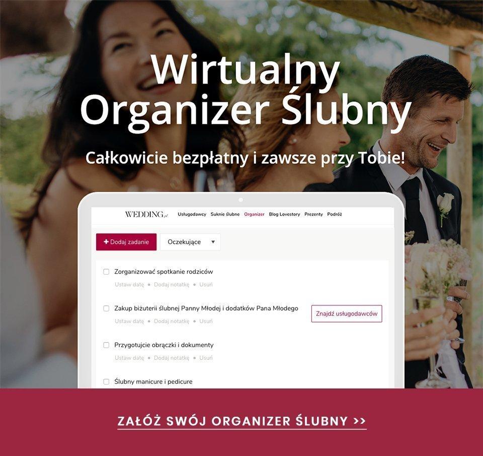czasochłonne zadania ślubne - organizer ślubny