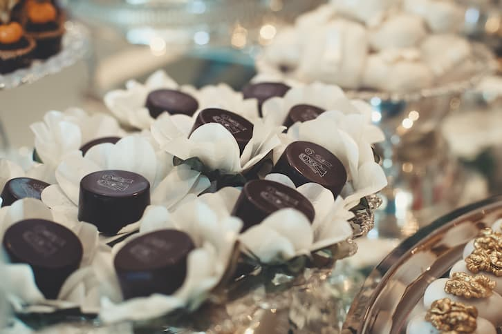 personalizowane czekoladki wesele