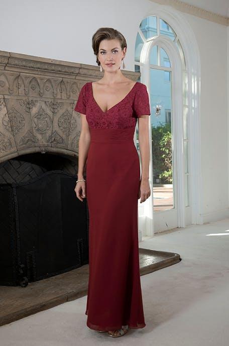 Czerwona sukienka na wesele długa