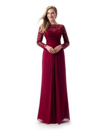 Czerwona sukienka na wesele - Wedding.pl