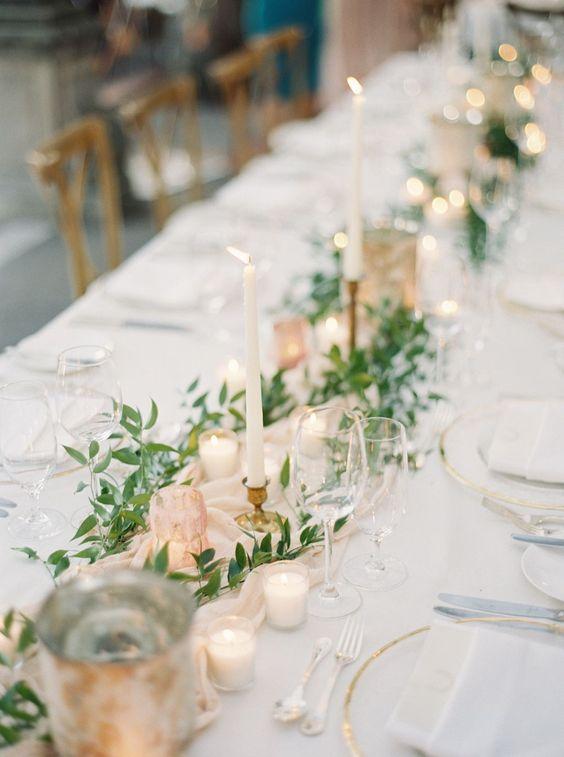 Dekoracja sali weselnej - stoły