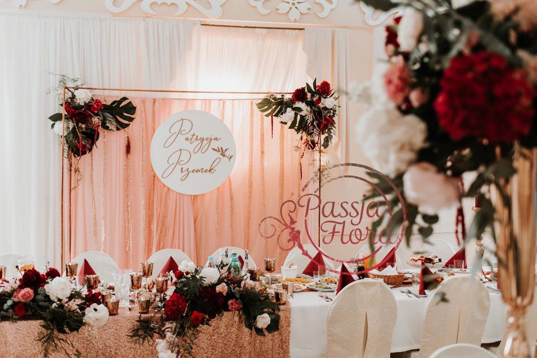 Dekoracje sali weselnej - koszty
