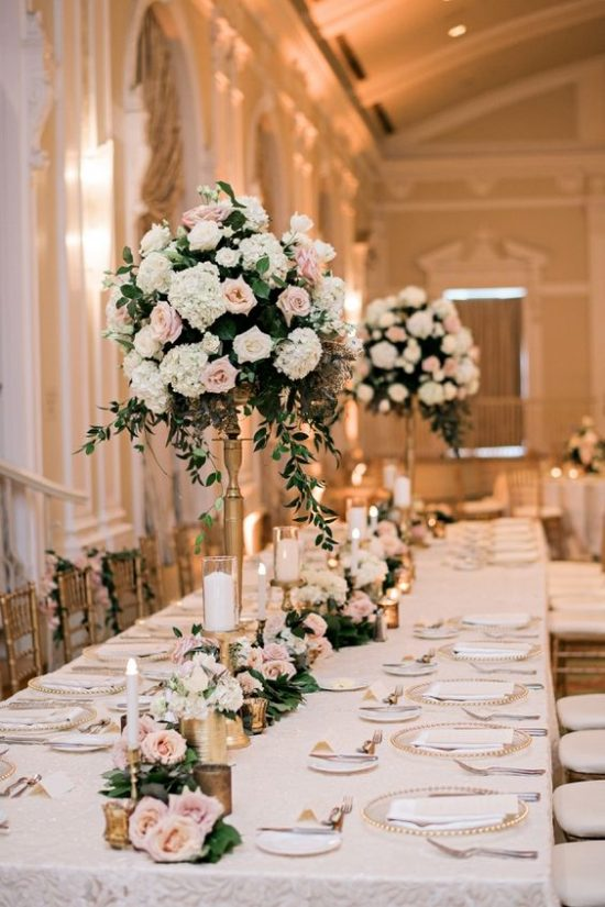 Dekoracje na stoły weselne 1