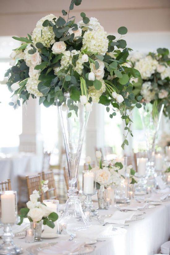 Dekoracje na stoły weselne 12