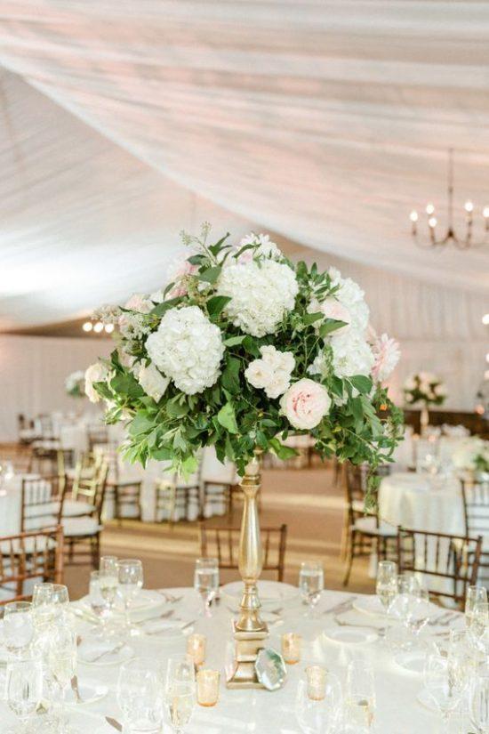 Dekoracje na stoły weselne 13