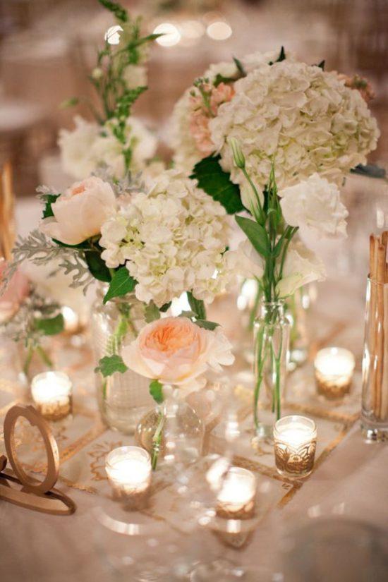 Dekoracje na stoły weselne 14