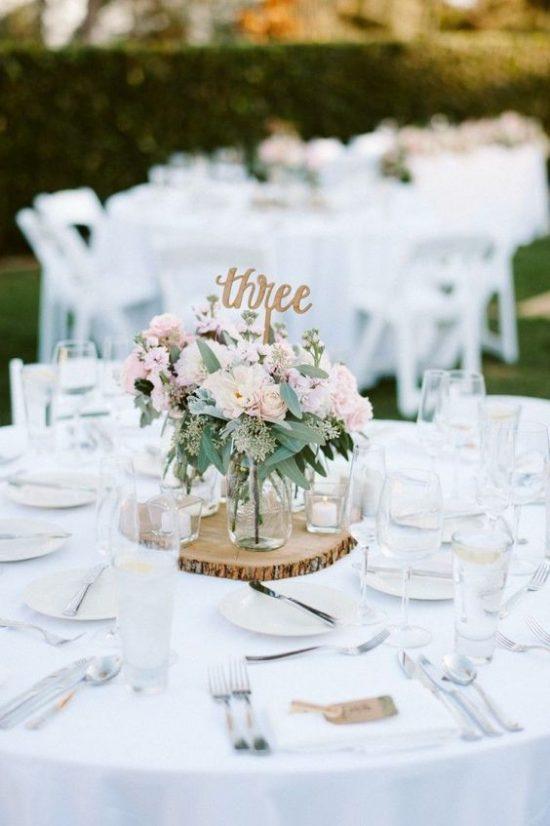 Dekoracje na stoły weselne 15