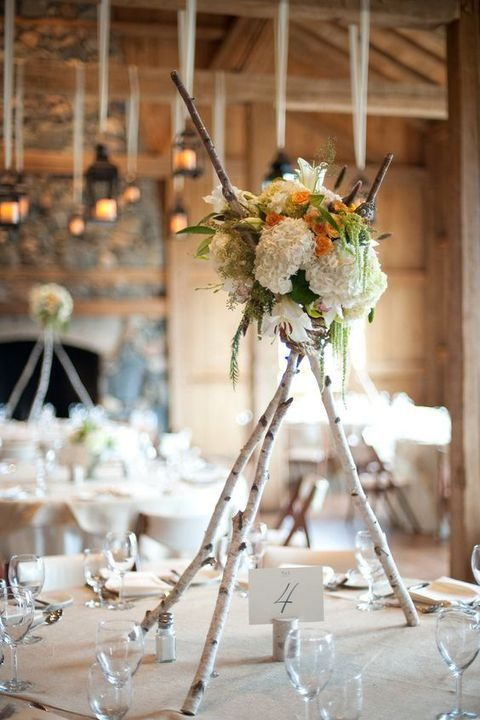 Dekoracje na stoły weselne 18