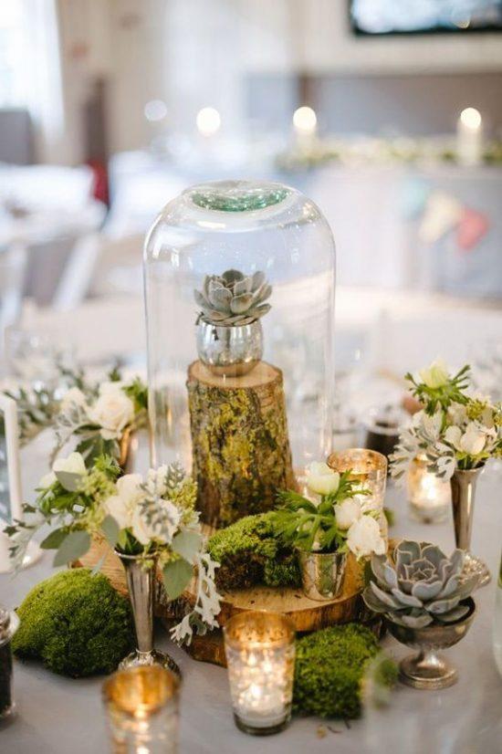 Dekoracje na stoły weselne 19