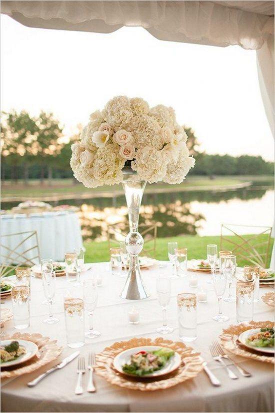 Dekoracje na stoły weselne 2