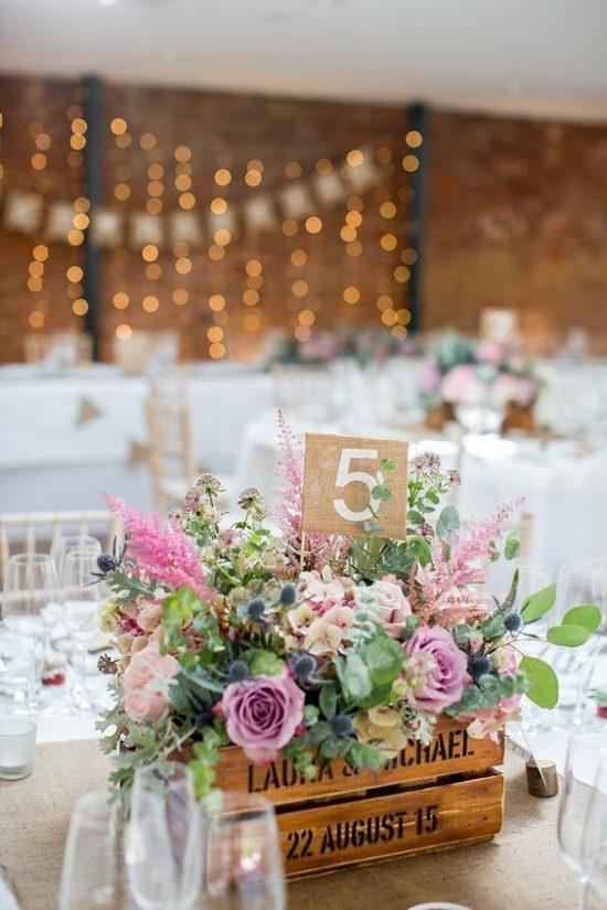 Dekoracje na stoły weselne 20