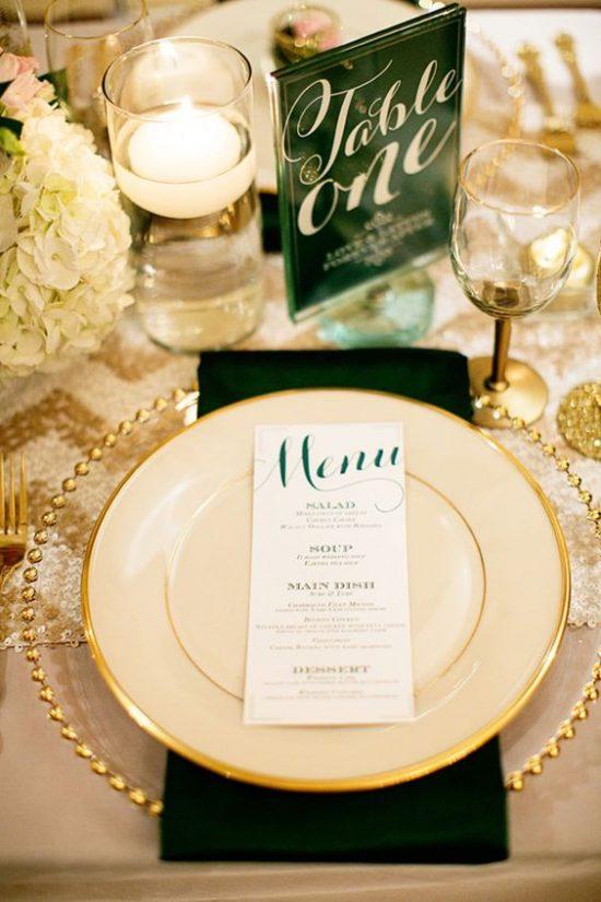 Dekoracje na stoły weselne 21