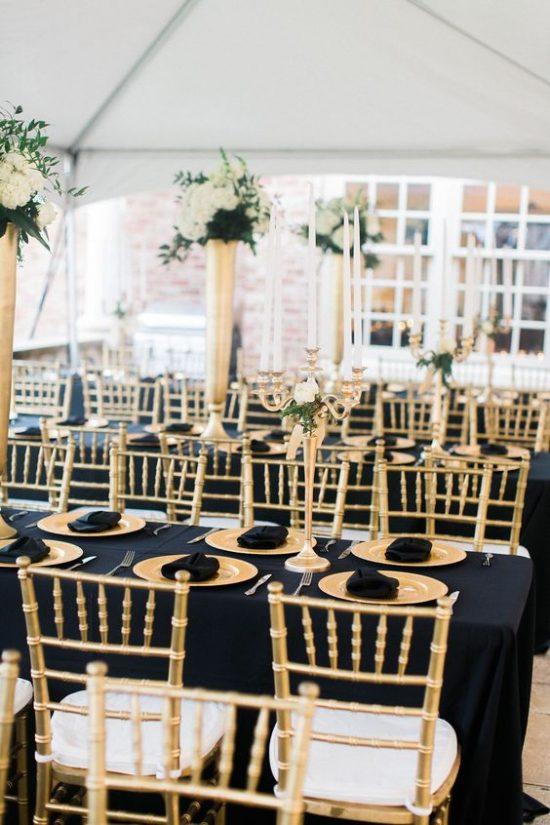 Dekoracje na stoły weselne 23