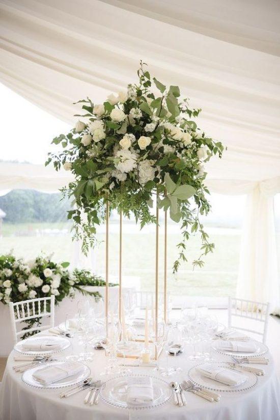 Dekoracje na stoły weselne 3