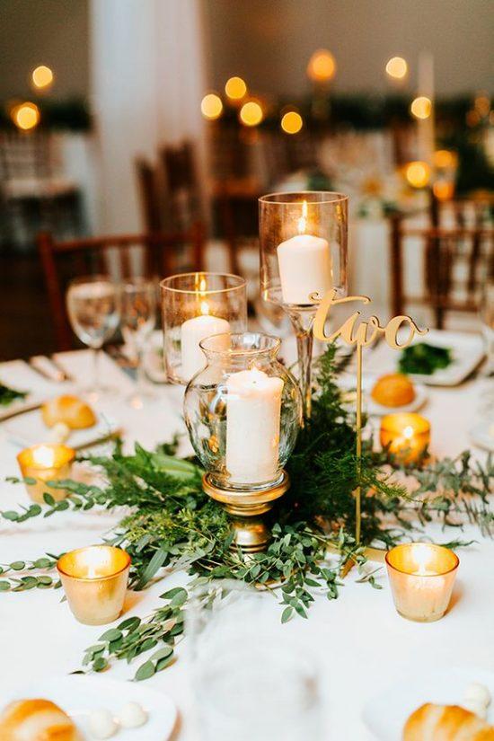 Dekoracje na stoły weselne 5