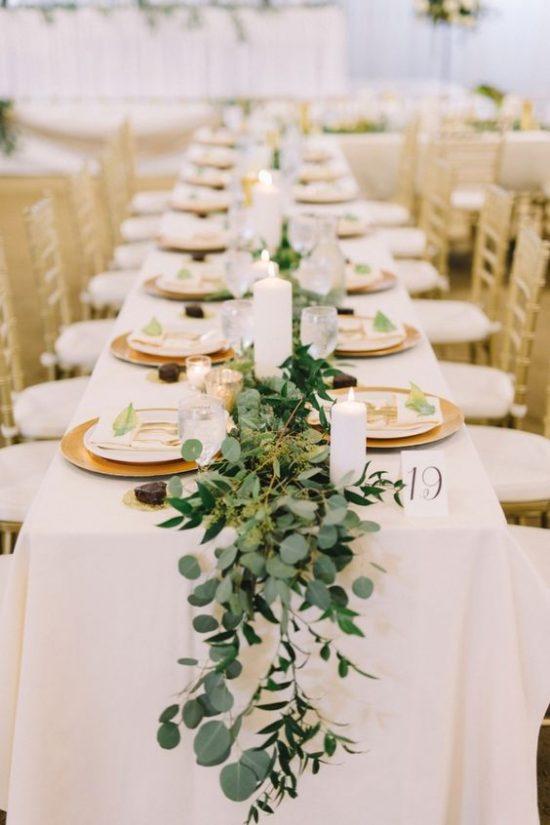 Dekoracje na stoły weselne 6