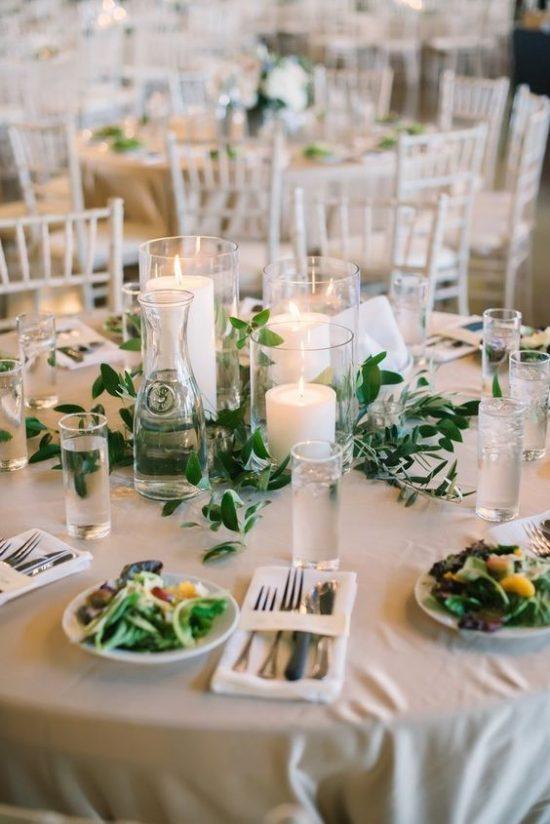 Dekoracje na stoły weselne 8
