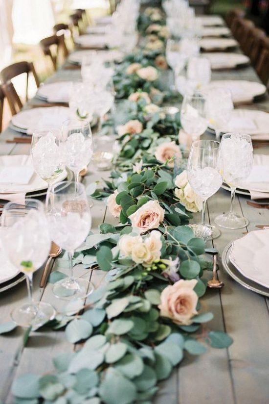 Dekoracje na stoły weselne 9