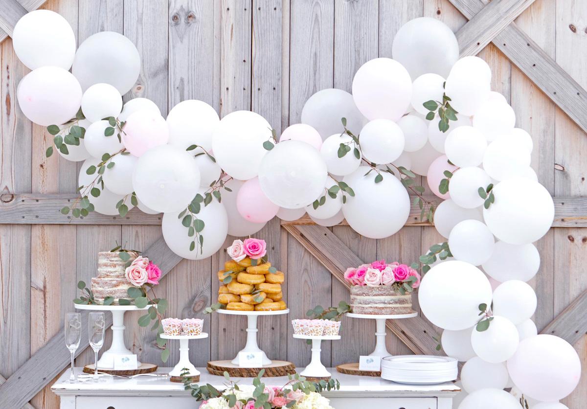 Nowoczesna architektura Dekoracje sali weselnej z balonów - Wedding.pl inspiruje BD37