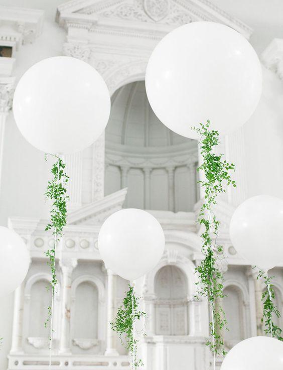 Wspaniały Dekoracje sali weselnej z balonów - Wedding.pl inspiruje CO36