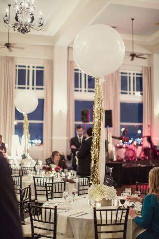 Balony z helem na wesele