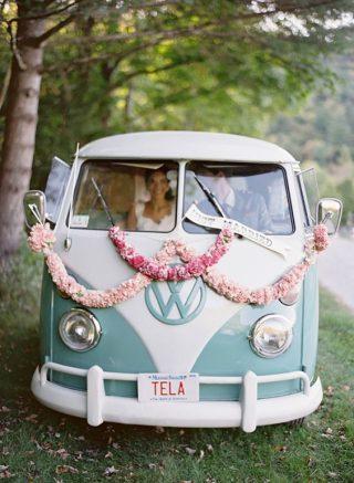 Dekoracja ogórka do ślubu
