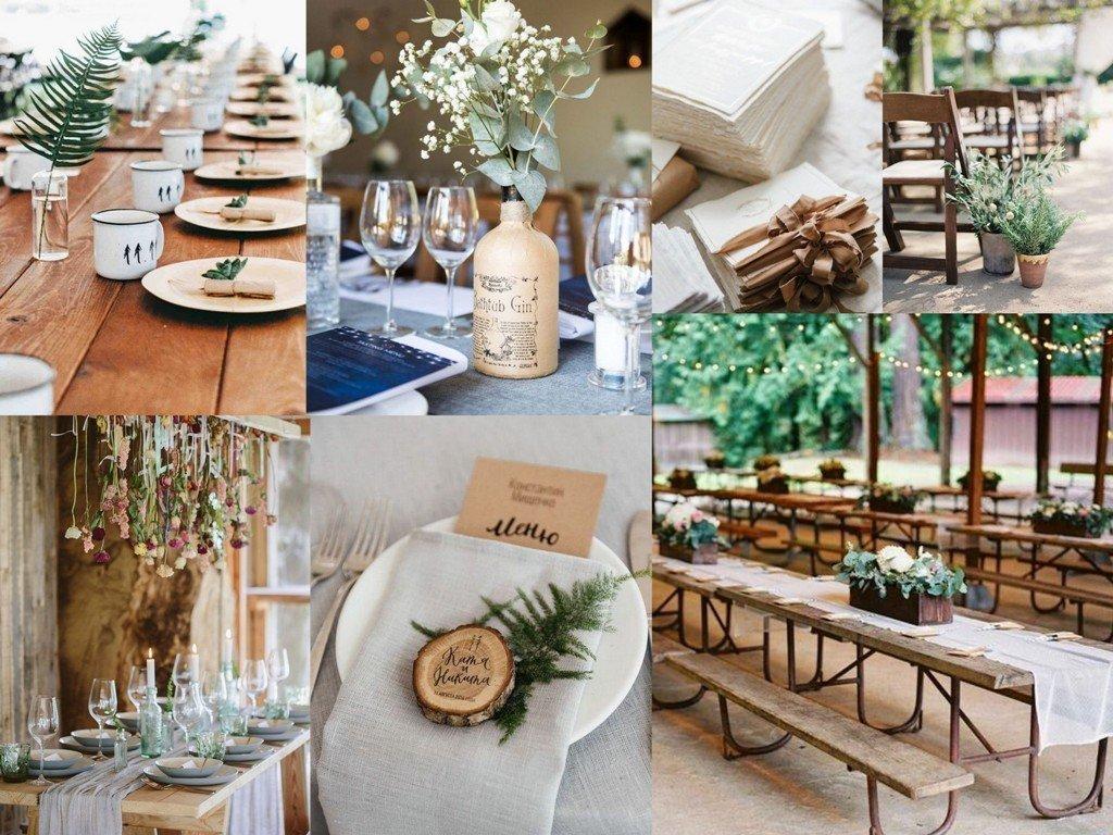 Ekologiczne Dekoracje ślubne
