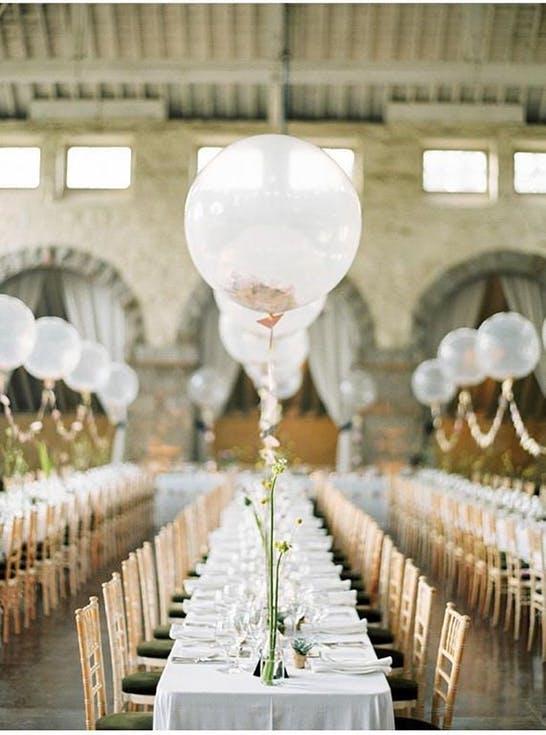 Dekoracje ślubne z balonami