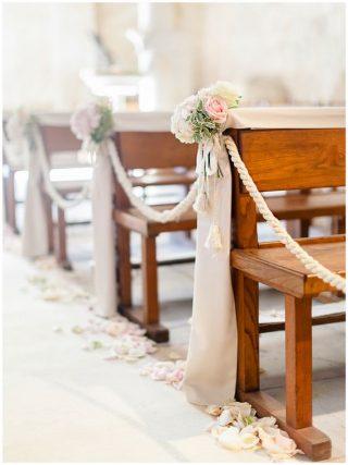Dekoracje ślubne - droga do ołtarza