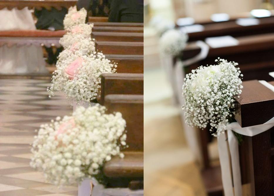 Dekoracje ślubne z gipsówki - zdjęcie 1