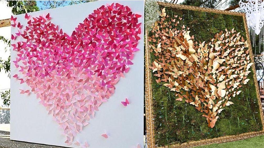 Dekoracje weselne z papieru - zdjęcie 1
