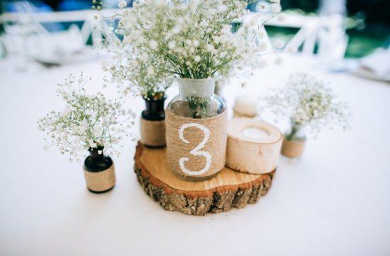 Dekoracje weselne z drewna - zdjęcie 13