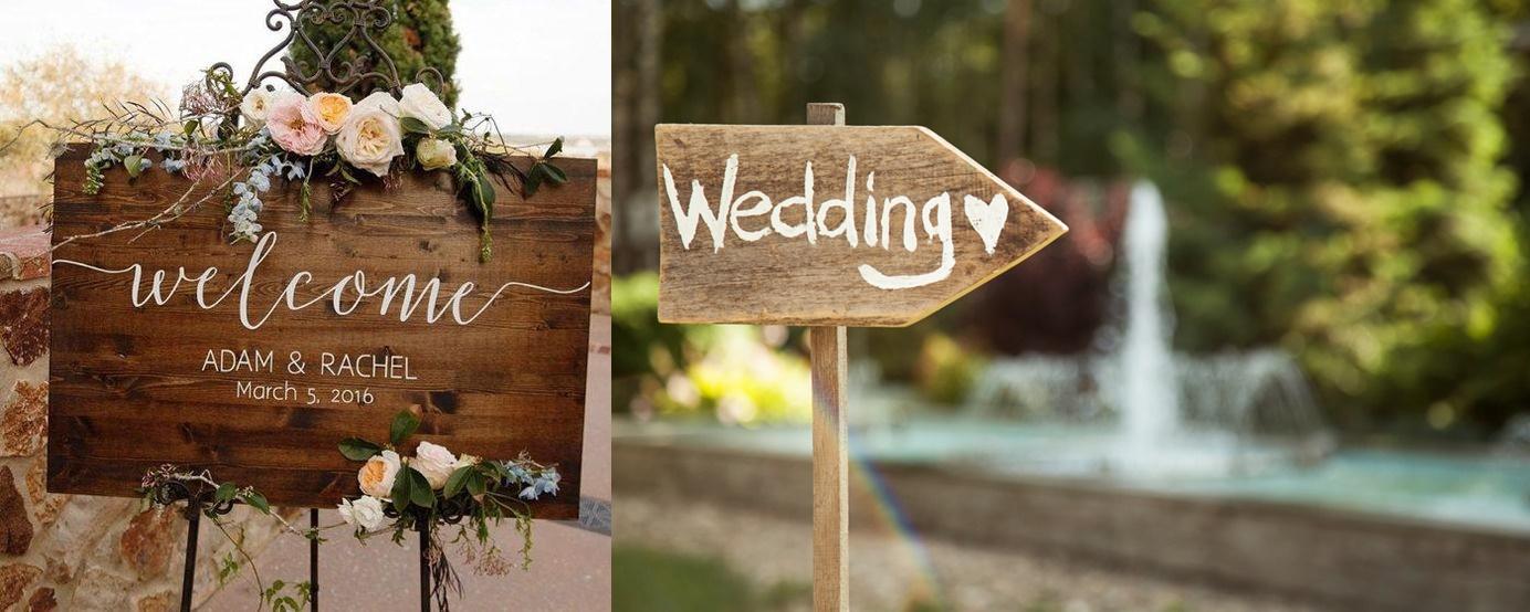 Dekoracje weselne z drewna - zdjęcie 5