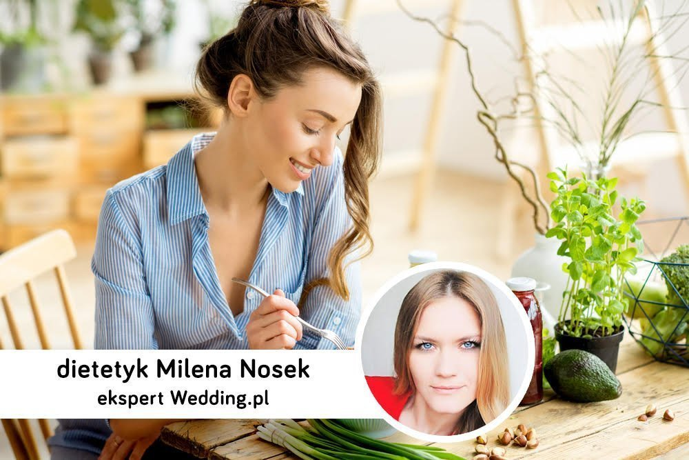 Dietetyczne wskazówki przed ślubem - ekspert radzi