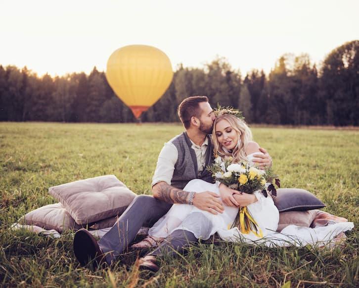 wodzirej na wesele młoda para