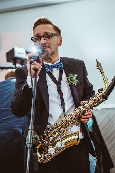 Marecki saksofon ślub