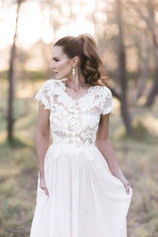 Fryzury na wesele z kucykiem - zdjęcie 11