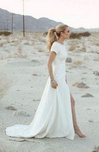 Fryzury na wesele z kucykiem - zdjęcie 7