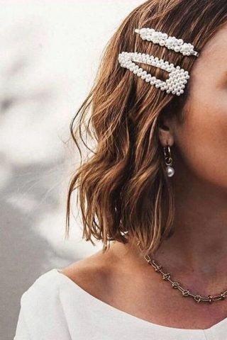 dodatki ślubne do włosów 2020