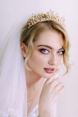 ozdoba ślubna w stylu glamour