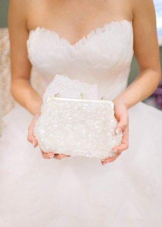 Dodatki ślubne 2020 - torebka dla panny młodej