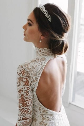 diadem ślubny