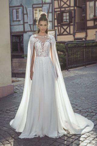 peleryna do sukni ślubnej
