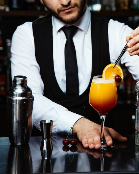 barman na wesele drink