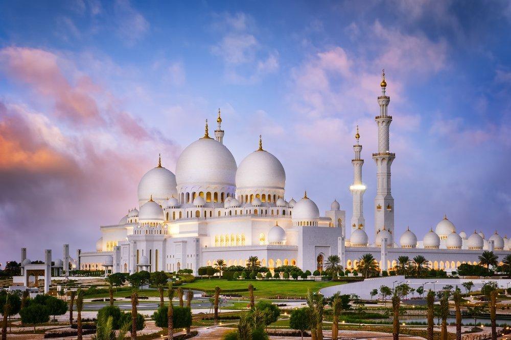 Podróż poślubna - Zjednoczone Emiraty Arabskie, Abu Dhabi